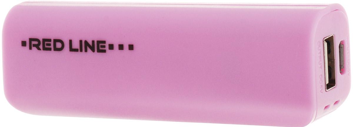 Red Line R-3000, Pink внешний аккумуляторУТ000008707Универсальный внешний аккумулятор Red Line R-3000 предназначен для зарядки различных мобильных устройств. Благодаря компактному размеру и малому весу вы всегда можете держать внешний аккумулятор при себе и оперативно заряжать ваше мобильное устройство.