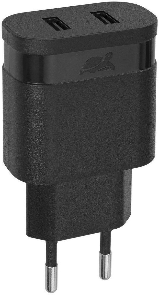 Rivapower VA4122 B00, Black сетевое зарядное устройствоVA4122 B00Универсальное сетевое зарядное устройство Rivapower VA4122 совместимо со всеми устройствами, использующими USB порт для зарядки своих аккумуляторов. Позволяет заряжать 2 устройства одновременно, занимая всего одну розетку. Высококачественные компоненты, встроенные фильтры, защита от скачков напряжения, защита от перегрузки, перегрева и короткого замыкания делают процесс зарядки быстрым, эффективным и безопасным. Корпус сделан из негорючего пластика устойчивого к механическим повреждениям. Компактные размеры зарядного устройства позволяют свободно пользоваться соседними розетками и делают его очень удобным в поездках.