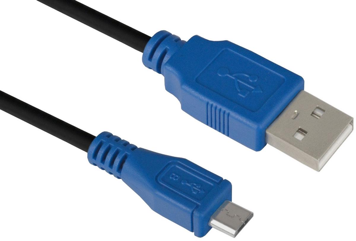 Greenconnect GCR-UA5MCB1-BB2S кабель microUSB-USB (1 м)