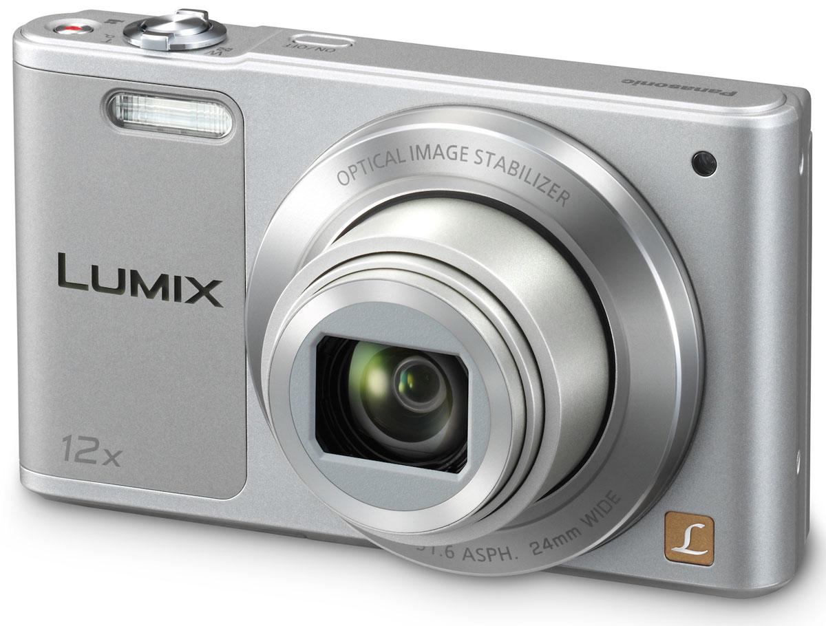 Panasonic Lumix DMC-SZ10, Silver цифровая фотокамераDMC-SZ10EE-SЦифровая фотокамера Panasonic Lumix DMC-SZ10 снабжена линзами 12х оптического зума, монитором с углом поворота 180° и функциями селфи. Запечатлейте памятные моменты в путешествиях и делитесь ими при помощи Wi-Fi подключения. Поверните дисплей вверх на 180°, и оптимальные настройки для селфи будут активированы автоматически. В комбинации с режимами Мягкой кожи, Коррекции фигуры и Расфокусировки ваши селфи получатся привлекательнее и оригинальнее. С дисплеем 2,7 дюймов 460 тысяч точек изображения и видео с семьей и с друзьями стало проще простого. 16 Мпикс CCD-сенсор позволяет делать фотографии в высоком разрешении, элементы которых можно вырезать и увеличить после съемки. Вкупе с разнообразием фильтров, режим Творческий контроль позволяет вам привносить художественные и оригинальные добавления в фотографии и видеозаписи. Творческая панорама позволяет создавать динамические вертикальные и горизонтальные панорамные фотографии, просто поворачивая...