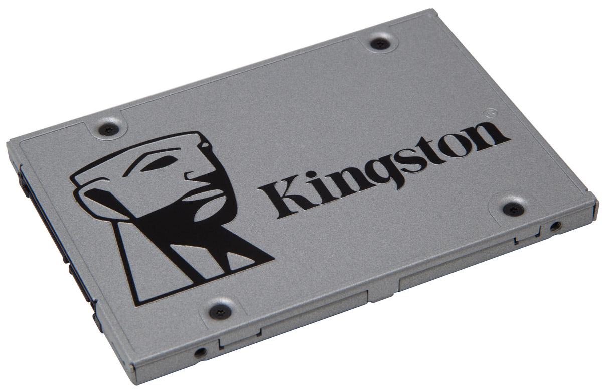 Kingston UV400 240Gb SSD-накопительSUV400S37/240GSSD Kingston UV400 оснащен четырехканальным контроллером Marvell и обеспечивает потрясающую скорость работы и повышенную производительность по сравнению с механическими жесткими дисками. Он значительно повышает скорость работы вашего компьютера и в 10 раз быстрее, чем жесткий диск со скоростью 7200 об/мин. UV400 более надежен и долговечен, чем жесткий диск; он изготовлен с использованием флеш-памяти, поэтому он имеет ударопрочную конструкцию, устойчив к вибрациям и менее подвержен сбоям, чем механический жесткий диск. Его надежность делает этот накопитель идеальным выбором для ноутбуков и других мобильных цифровых устройств. UV400 предоставляет достаточно пространства для хранения всех ваших файлов, приложений, видео, фотографий и других важных документов. Он станет альтернативой жесткому диску.