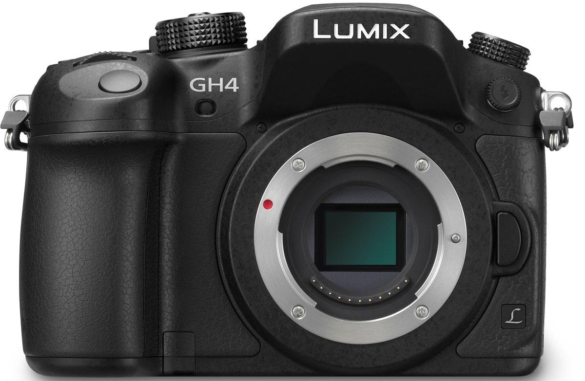 Panasonic Lumix DMC-GH4 Body, Black цифровая фотокамераDMC-GH4EE-KPanasonic Lumix DMC-GH4 - продвинутая цифровая беззеркальная фотокамера. Четырехъядерный процессор обработки изображений Venus Engine обеспечивает скоростную обработку сигнала. Сочетание нового Digital Live Mos сенсора и процессора Venus Engine значительно улучшает чувствительность (макс. 25 600 единиц ISO), эффективность передачи градации тонов, разрешение и цветопередачу, благодаря чему качество изображения становится еще выше. В результате, изображение максимально естественно, а это именно то, на что ориентирована продукция Lumix. Новая гибридная фото/видео камера DMC-GH4 обеспечивает профессиональное качество съемки и соответствует стандартам записи видео с разрешением 4 К (формат Cinema 4К: 4 096 х 2 160 / 24 кадра в секунду и формат QFHD 4К: 3 840 х 2 160 / до 30 кадров в секунду) в форматах MOV и МР4. Новинка позволяет снимать Full НО -видео с ультравысоким битрейтом 200 Мбит/с (ALL-lntra) или 100 Мбит/с (IPB) без ограничения времени записи1 2. Кроме...