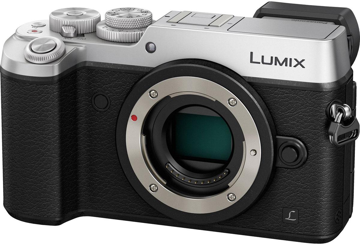 Panasonic Lumix DMC-GX8 Body, Silver цифровая фотокамераDMC-GX8EE-SКамера Panasonic Lumix DMC-GX8 оснащена 20,3-мегапиксельным сенсором, двойным стабилизатором изображения, функцией записи 4К видео и фото, что позволяет снимать объекты в наилучшем качестве. Тщательно разработанную конструкцию камеры оценят даже профессиональные фотографы. Модель оснащена двойным стабилизатором изображения Dual I.S. для еще более эффективной коррекции дрожания рук. Одновременная работа стабилизатора корпуса и объектива обеспечивает оптимальный эффект. Благодаря расширенному углу коррекции (до 3.5х) можно получать четкие снимки при съемке с рук даже в условиях низкой освещенности. Фотокамера оснащена новым 20.3-мегапиксельным сенсором Digital Live MOS, который обеспечивает наилучшее качество изображения в истории цифровых камер линейки LUMIX G. Благодаря сенсору достигается высокоскоростная серийная съемка, высокочувствительная запись вплоть до ISO 25 600 и более широкий динамический диапазон. Сочетание сенсора Digital Live MOS и процессора Venus...