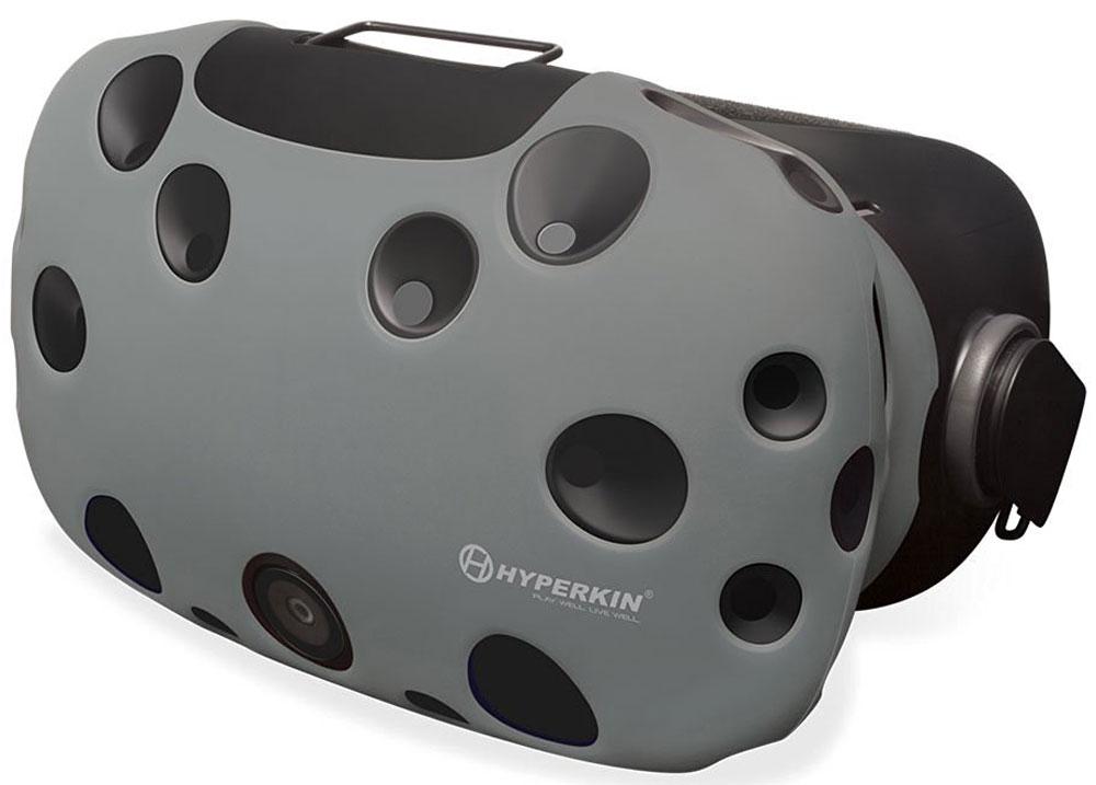 Hyperkin GelShell, Gray чехол для HTC Vive (M07200)M07200-GRЧехол Hyperkin GelShell обеспечивает защиту для главного компонента системы при ежедневном использовании. Приятный на ощупь и красивый внешне, защитный чехол дополнит образ всей системы виртуальной реальности.