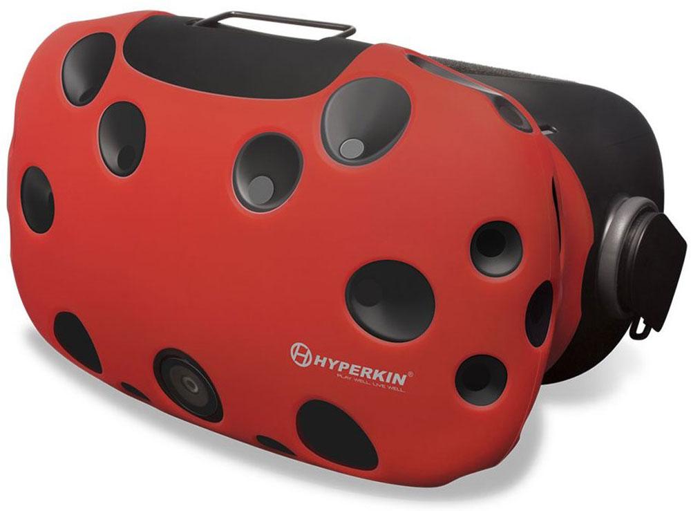 Hyperkin GelShell, Red чехол для HTC Vive (M07200)M07200-RDЧехол Hyperkin GelShell обеспечивает защиту для главного компонента системы при ежедневном использовании. Приятный на ощупь и красивый внешне, защитный чехол дополнит образ всей системы виртуальной реальности.