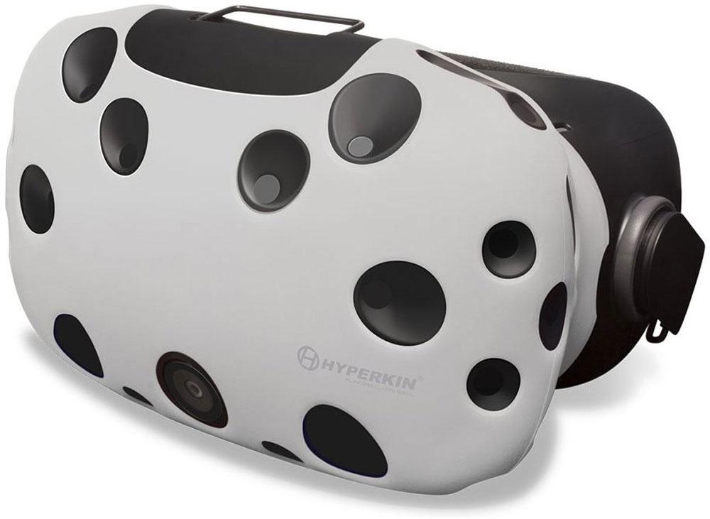Hyperkin GelShell, White чехол для HTC Vive (M07200)M07200-WHЧехол Hyperkin GelShell обеспечивает защиту для главного компонента системы при ежедневном использовании. Приятный на ощупь и красивый внешне, защитный чехол дополнит образ всей системы виртуальной реальности.