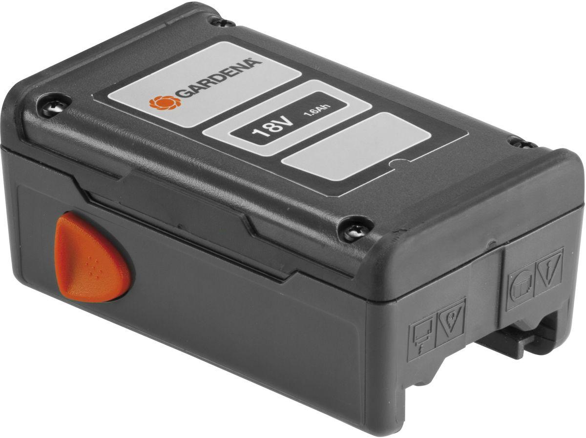 Аккумулятор Gardena, никель-металл-гидридный, 18 В08834-20.000.00Мощная никель-металлогидридная аккумуляторная батарея, экологически безопасная и практически лишенная эффекта памяти, для турботриммера AccuCut 300 NiMH.
