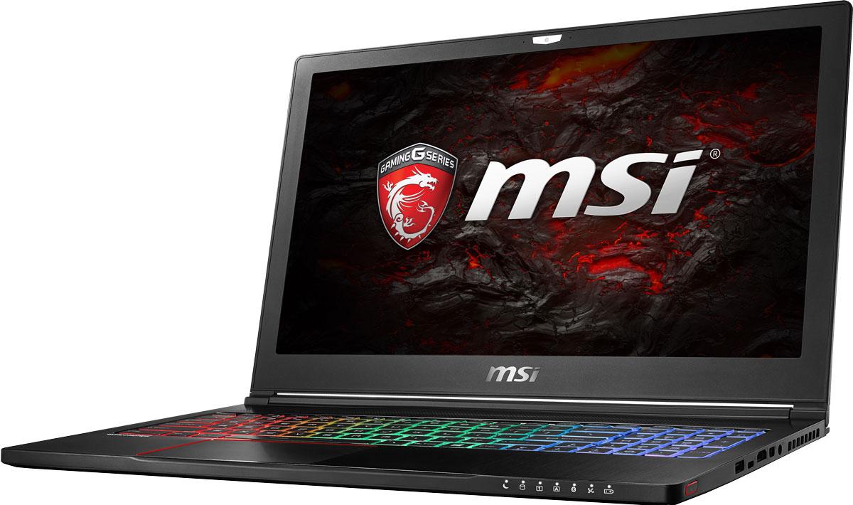 MSI GS63 7RE-002RU Stealth Pro, Black9S7-16K412-002Инженеры MSI оптимизировали каждую деталь архитектуры ноутбука GS63 7RE, чтобы сохранить баланс между портативностью и вычислительной мощью. Ни один другой игровой ноутбук в мире не способен продемонстрировать столь внушительную производительность при толщине корпуса всего 17,7 мм. В конструкции игрового ноутбука GS63 Stealth используется магний-литиевый сплав, который делает его на 44% жёстче алюминиевых корпусов. Вес всего 1,8 кг делает эту модель самым лёгким игровым ноутбуком в классе. MSI стала первой, кто применил новейшее поколение видеокарт NVIDIA Pascal в игровых ноутбуках. 3D- производительность GeForce GTX 1050 Ti по сравнению с GeForce GTX 965M увеличилась более чем на 15%. Инновационная система охлаждения Cooler Boost 4 и особые геймерские технологии раскрыли весь потенциал новейшей NVIDIA GeForce GTX 1050 Ti. Совершенно плавный геймплей на ноутбуке MSI GS63 7RE разбивает стереотипы об исключительной производительности десктопов, заставляя...