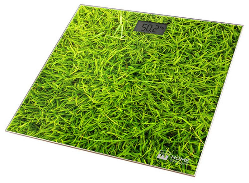 Home Element HE-SC906 Молодая трава напольные весыHE-SC906Весы напольные Home Element HE-SC906 позволяют не только взвешиваться, но и имеют отличный дизайн. Они не занимают много места, имеют надежнейший механизм и не оставляют равнодушными. Весы обеспечивают взвешивание до 180 килограммов с точностью до 100 граммов и способны работать в различных единицах измерения. Цифровой дисплей, индикаторы перегрузки и замены батареи, включение от прикосновения, а также функция автоматического обнуления и отключения подарят наибольший комфорт при использовании весов и надолго сохранят заряд батарейки. Весы HE-SC906 - это красиво оформленный надежный и точный прибор. Он обязательно подарит вам удовольствие от использования и отличное настроение!
