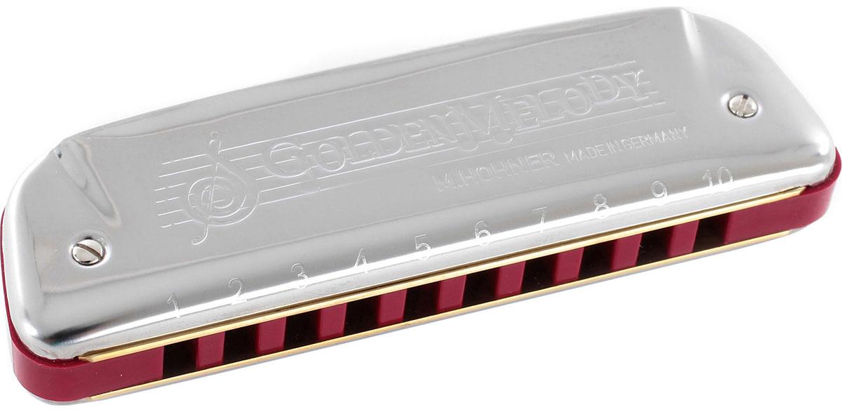 Hohner Golden Melody 542/20 D (M542036X) губная гармошка