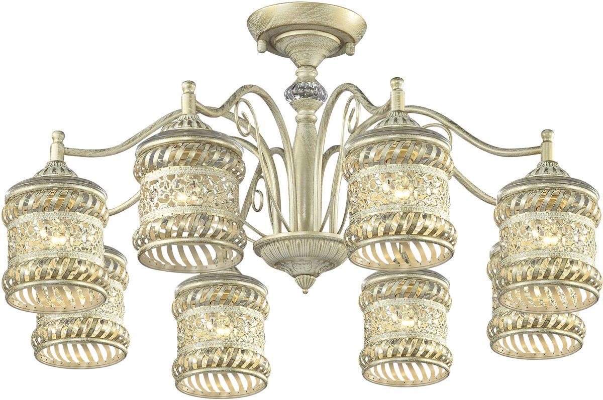 Люстра потолочная Favourite Arabia, 8 х E14, 40W. 1623-8P1623-8P