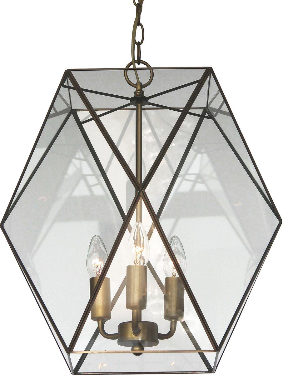 Светильник подвесной Favourite Shatir, 3 х E14, 40. 1628-3P1628-3P