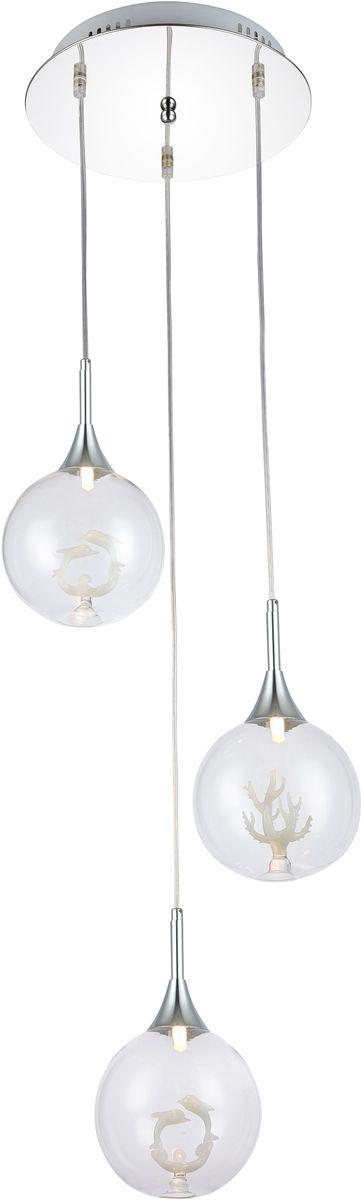 Светильник подвесной Favourite Delphin, 3 х G9, 40. 1647-3P1647-3P