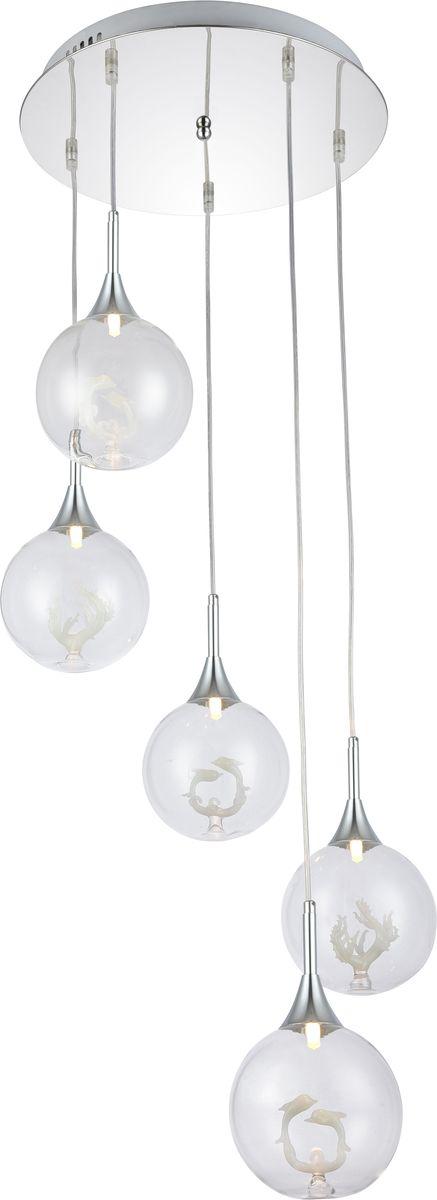 Светильник подвесной Favourite Delphin, 5 х G9, 40. 1647-5P1647-5P