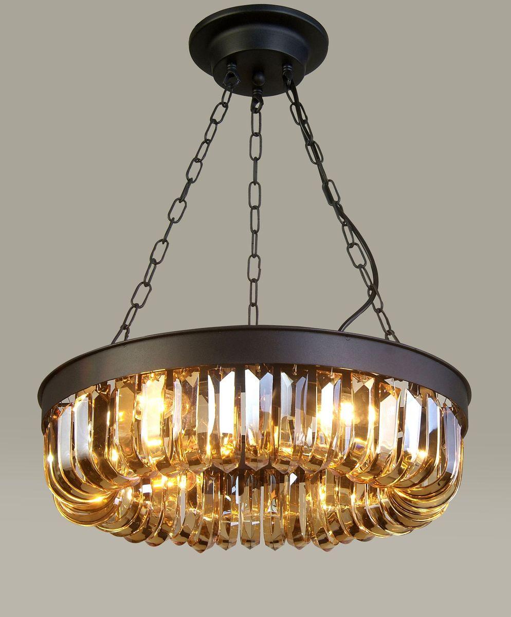 Светильник подвесной Favourite Amber, 6 х E14, 40. 1657-6P1657-6P