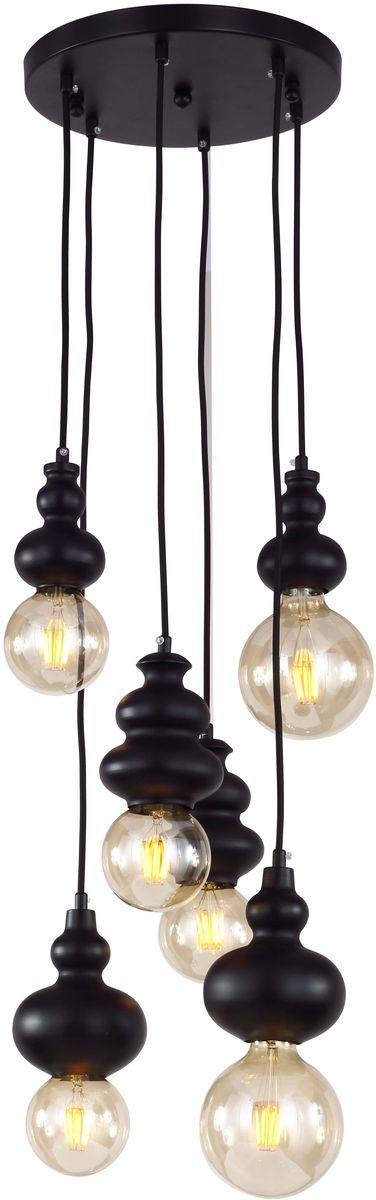 Светильник подвесной Favourite Bibili, 6 х E27, 40. 1682-6P1682-6P