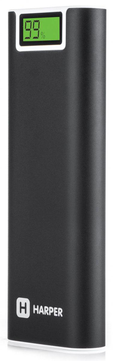Harper PB-2013 внешний аккумулятор (13200 мАч)H00001222Внешний аккумулятор Harper PB-2013 – мощное и надежное портативное устройство. С PB-2013 вы можете не беспокоится о том, что вдали от сетевых источников энергии ваш гаджет разрядится в самый неподходящий момент. Harper PB-2013 имеет серьезную емкость – 13200 мАч. Этого объема заряда хватит на неоднократную подзарядку даже самых мощных смартфонов. Два порта USB позволяют подключать одновременно два внешних потребителя тока. Каждый порт обеспечивает напряжение 5 В и силу тока – 2,1 А, что способствует быстрому циклу заряда любого цифрового устройства. Встроенный фонарь поможет в трудную минуту (в походе, на природе, в быту). Смарт-чип обеспечит правильный цикл заряда внешних потребителей. Он может контролировать как уровень заряда встроенных батарей, так и батарей подключаемых устройств. Harper PB-2013 имеет защиту от коротких замыканий. Корпус из алюминия – надежно защищает батареи от механических воздействий и неприхотлив в...