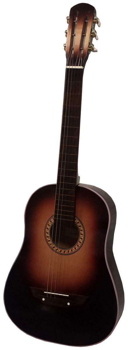 Аккорд Classic 2, Dark Brown акустическая гитара