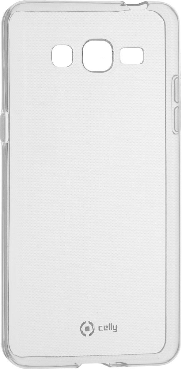 Celly Gelskin, Clear чехол для Samsung Galaxy J2 Prime/Grand PrimeGELSKIN639Прозрачный эластичный чехол-накладка Celly Gelskin для Samsung Galaxy J2 Prime/Grand Prime выполнен из противоударного термопластичного полиуретана. Идеальное эргономичное решение для защиты вашего смартфона. Благодаря небольшой толщине он практически не увеличивает размер вашего телефона.