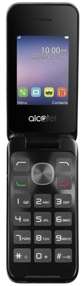 Alcatel OT-2051D, Black Metal Silver2051D-3AALRU1Alcatel OT-2051D - традиционный кнопочный телефон-раскладушка, компактный и простой в использовании. Он обеспечит владельцу возможность вести телефонные разговоры и обмениваться SMS-сообщениями. Удобная клавиатура позволяет с легкостью набрать нужный номер или текстовое сообщение. 2-мегапиксельная камера придется кстати, если на пути попалось что-то интересное. При этом ы сможете как сделать эффектное фото, так и вести видеозапись различных событий. В Alcatel OT-2051D предусмотрено FM-радио и аудиоплеер. Вы можете прослушивать любимые радиопередачи или аудиозаписи в любом месте, где бы вы ни находились. Слот для карты памяти объемом до 32 Гб обеспечит вам возможность записи огромного количества любимых песен! Alcatel OT-2051D оснащен двумя слотами для SIM-карт позволит вам комбинировать наиболее выгодные тарифы различных операторов, а также сочетать рабочую SIM-карту с SIM-картой для общения с близкими в одном устройстве. ...