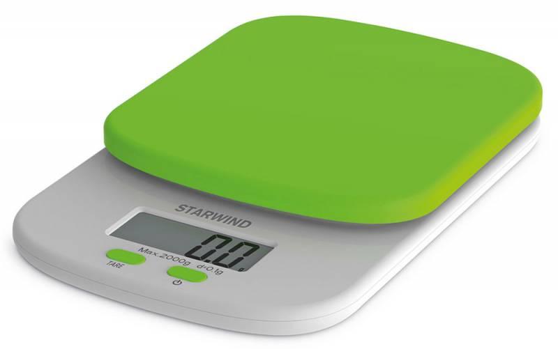 Starwind SSK2155, Green весы кухонныеSSK2155