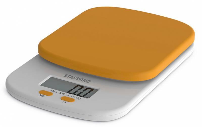Starwind SSK2158, Orange весы кухонные