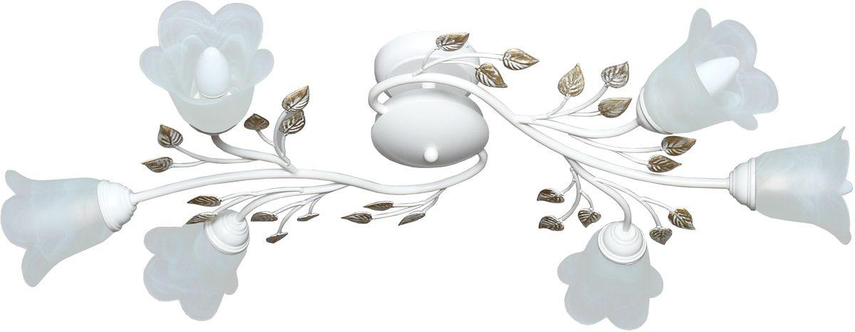Люстра потолочная Аврора Лилия, 6 х E14, 60 W. 10019-6C10019-6C