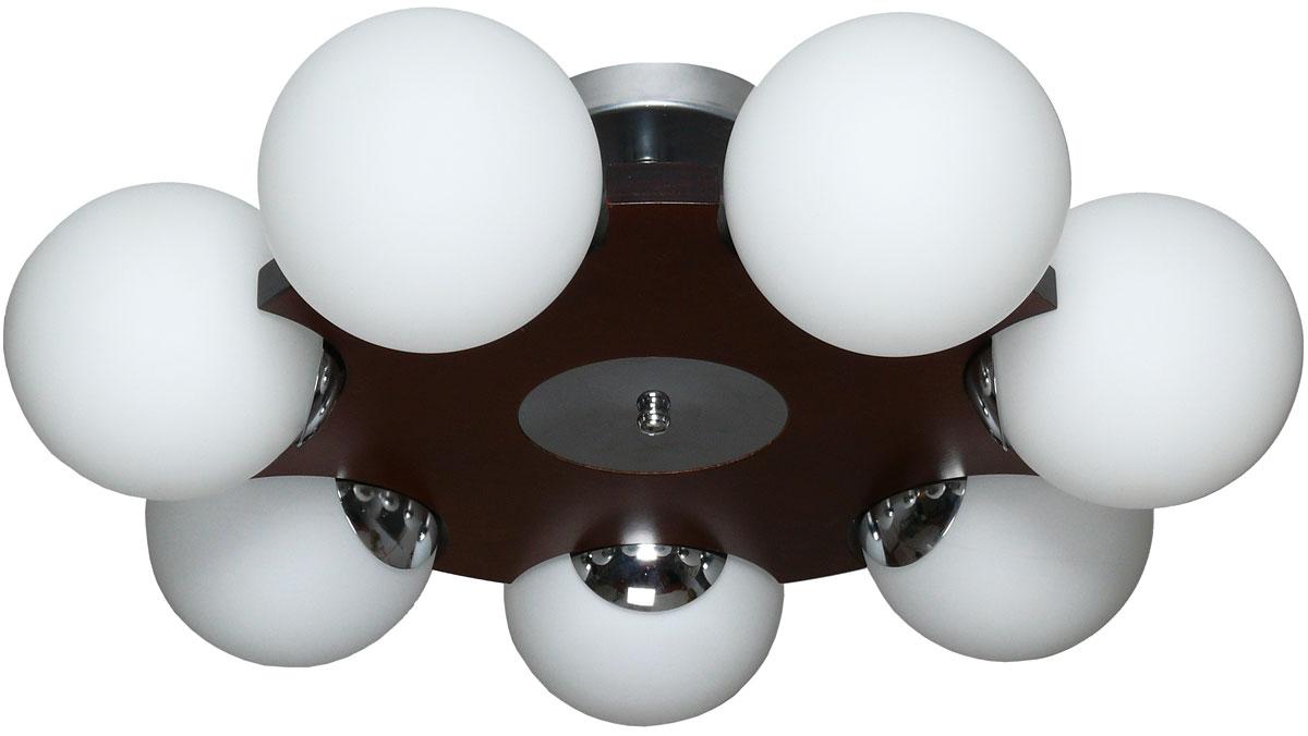Люстра потолочная Аврора Буйки, 7 х E14, 60 W. 10035-7C10035-7C