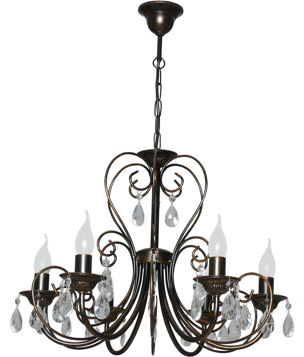 Люстра подвесная Аврора Версаль, 6 х E14, 60 W. 10056-6L10056-6L