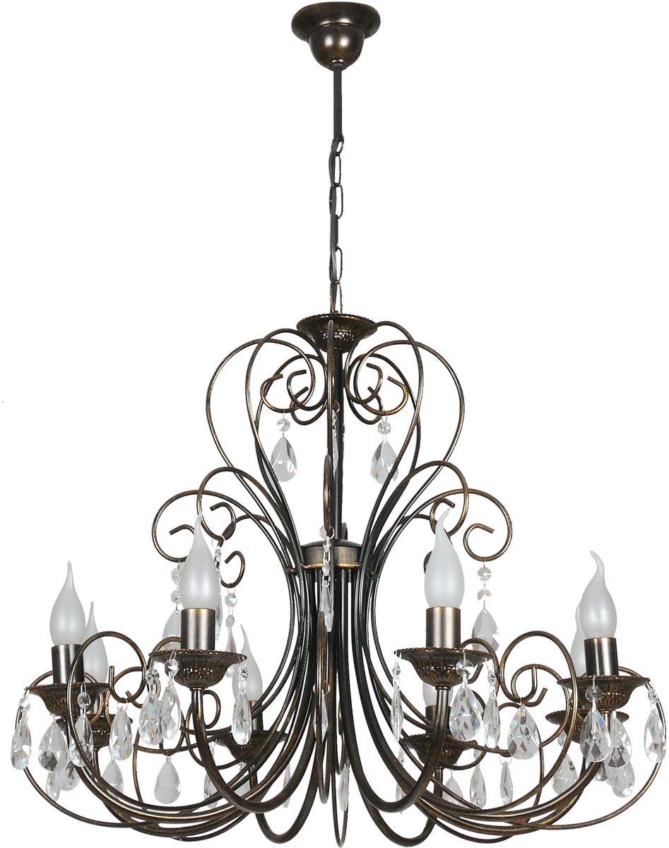 Люстра подвесная Аврора Версаль, 8 х E14, 60 W. 10056-8L10056-8L