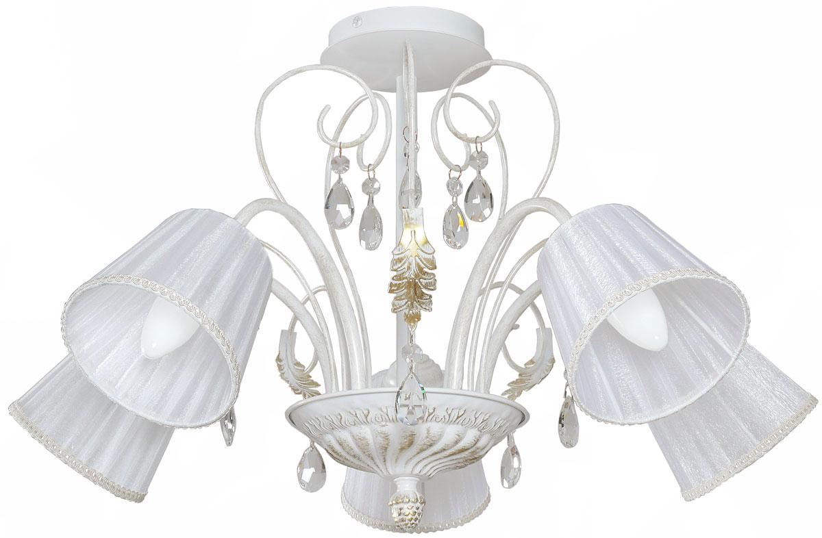 Люстра потолочная Аврора Шанель, 5 х E14, 60 W. 10060-5L10060-5L