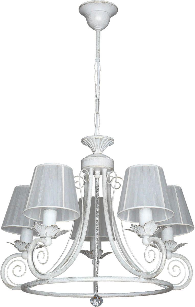 Люстра подвесная Аврора Крит, 5 х E14, 60 W. 10061-5L10061-5L
