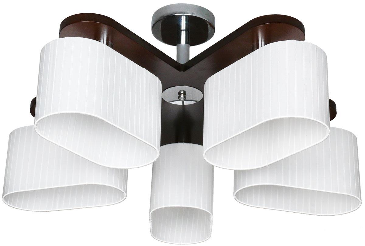 Люстра потолочная Аврора Комфорт, 5 х E14, 60 W. 10068-5C10068-5C