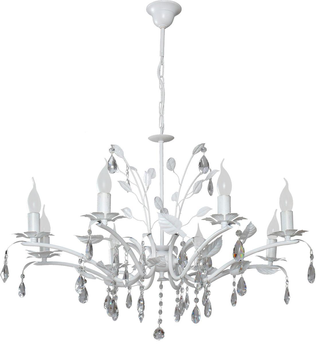 Люстра подвесная Аврора Сицилия, 8 х E14, 60 W. 10075-8L10075-8L