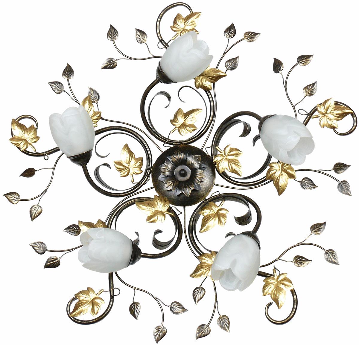 Люстра потолочная Аврора Флоренция, 5 х E14, 60 W. 10114-5C10114-5C