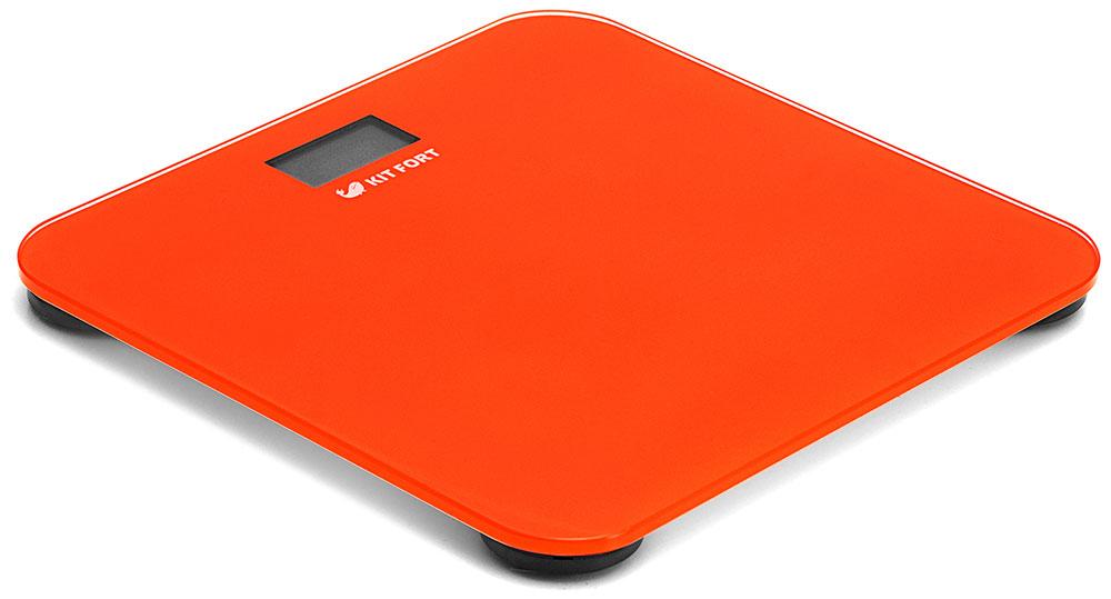 Kitfort КТ-804-5, Red весы напольныеКТ-804-5Электронные напольные весы Kitfort КТ-804 обеспечивают высокую точность измерения и станут неизменным спутником для людей, следящих за своим весом. Весы оснащены жидкокристаллическим дисплеем с крупными цифрами, что делает их использование максимально удобным. Платформа выполнена из высокопрочного полированного стекла, а прорезиненные ножки обеспечивают весам дополнительную устойчивость и предотвращают их скольжение по полу, что гарантирует безопасность во время взвешивания. Включение и выключение весов Kitfort КТ-804 происходит автоматически. После взвешивания показания весов фиксируются. При каждом включении весы автоматически калибруются и тарируются для обеспечения большей точности показаний. Весы имеют яркий привлекательный дизайн, благодаря чему украсят собой любой интерьер. Минимальный вес: 2,5 кг