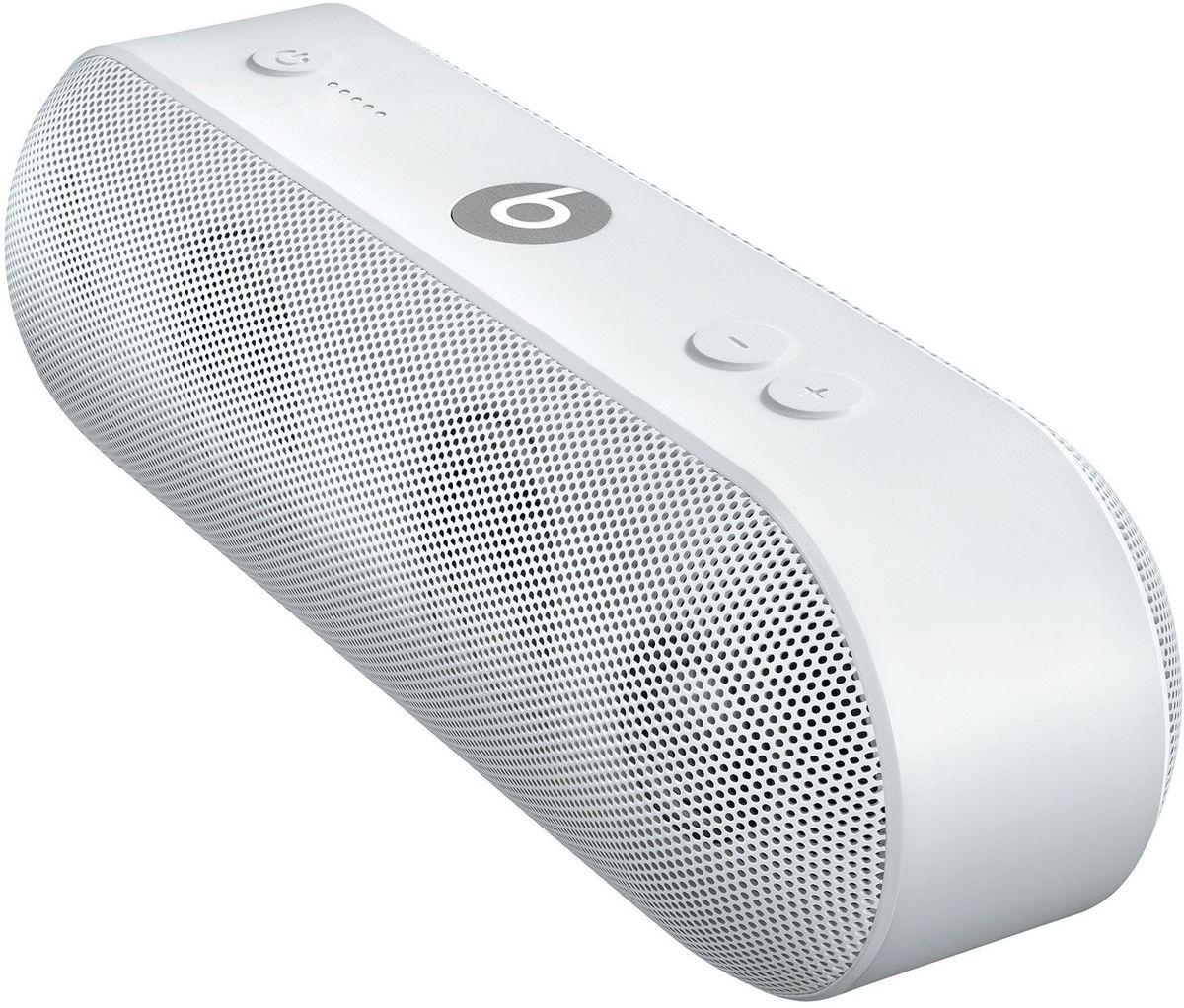 Beats Pill+, White портативная акустическая системаML4P2ZE/AАкустическая система Beats Pill+ полностью портативна и наполняет комнату богатым и чистым звучанием - удивительно мощным и чётким. Стильный интерфейс Beats Pill+ интуитивно понятен и открывает совершенно новые возможности для совместного прослушивания музыки. Стереосистема с активным двухканальным кроссовером создаёт великолепное звуковое поле с широким динамическим диапазоном и чётким звучанием во всех музыкальных жанрах. В раздельных динамиках высоких и низких частот используется такая же акустическая схема, как в профессиональных студиях звукозаписи по всему миру. Благодаря продуманному дизайну Beats Pill+ звучит так же хорошо, как и выглядит. В его простом и интуитивно понятном интерфейсе нет ничего лишнего, и включить любимую музыку очень легко. Объедините Beats Pill+ в пару с iPhone, MacBook или любым другим устройством Bluetooth, чтобы слушать музыку, смотреть видео и играть в игры с великолепным качеством звука. Или объедините их в пару с...