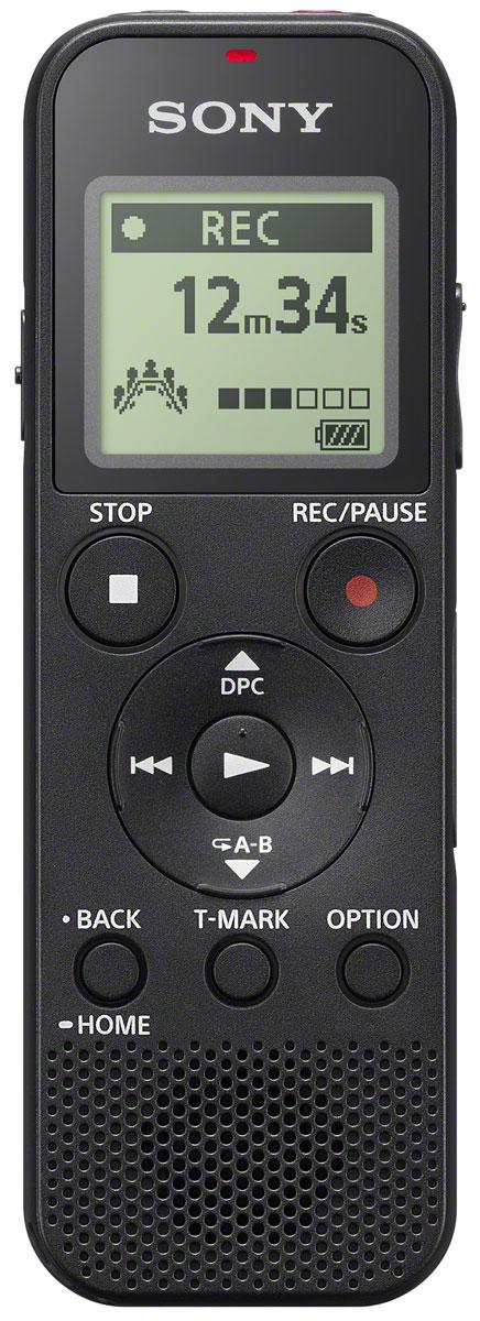 Sony ICD-PX370, Black диктофонICDPX370.CE7