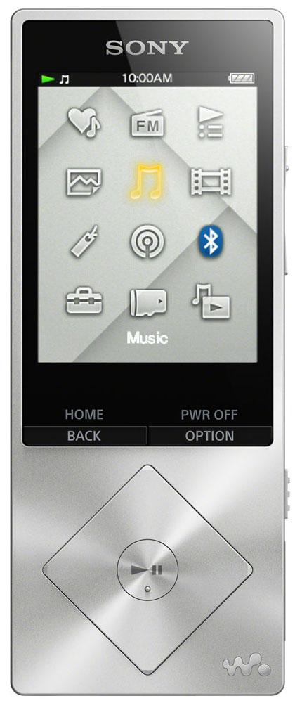 Sony NWZ-A17, Silver МР3-плеер17828671Sony NWZ-A17 - компактный МР3-плеер со встроенной памятью 64 ГБ, а так же с возможностью ее расширения с помощью карт microSDXC. От источника до АС - в устройствах Sony все создано для создания идеальных аудиовпечатлений. Цифровые усилители и специальные динамики для высоких частот точно воспроизводят аудио высокой четкости, приближая звучание к живому звуку. При воспроизведении MP3 сжатые аудиодорожки обрабатываются цифровыми программными средствами для воссоздания первоначального звучания. Встроенный цифровой усилитель S-Master HX гарантирует чистоту звука при воспроизведении аудио высокого разрешения. Чистота и четкость звучания становятся возможными благодаря снижению уровней шумов, зачастую возникающих в диапазонах высоких частот. Технология цифрового улучшения звука DSEE HX восстанавливает качество сжатых аудиофайлов. При сжатии оригинала высокочастотные детали звука теряются. Технология DSEE HX восстанавливает их и обеспечивает...