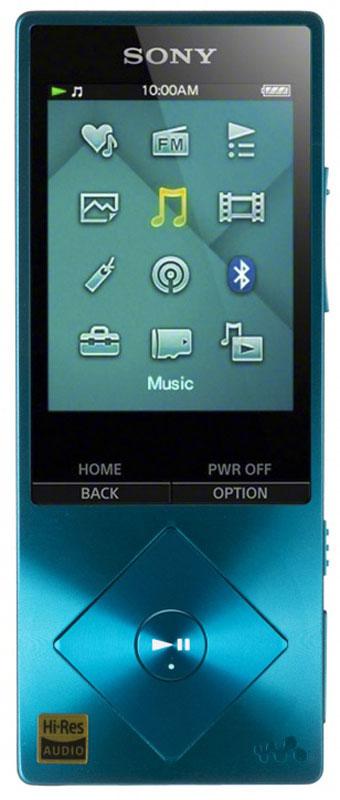 Sony NWZ-A17, Blue МР3-плеер17828672Sony NWZ-A17 - компактный МР3-плеер со встроенной памятью 64 ГБ, а так же с возможностью ее расширения с помощью карт microSDXC. От источника до АС - в устройствах Sony все создано для создания идеальных аудиовпечатлений. Цифровые усилители и специальные динамики для высоких частот точно воспроизводят аудио высокой четкости, приближая звучание к живому звуку. При воспроизведении MP3 сжатые аудиодорожки обрабатываются цифровыми программными средствами для воссоздания первоначального звучания. Встроенный цифровой усилитель S-Master HX гарантирует чистоту звука при воспроизведении аудио высокого разрешения. Чистота и четкость звучания становятся возможными благодаря снижению уровней шумов, зачастую возникающих в диапазонах высоких частот. Технология цифрового улучшения звука DSEE HX восстанавливает качество сжатых аудиофайлов. При сжатии оригинала высокочастотные детали звука теряются. Технология DSEE HX восстанавливает их и обеспечивает...