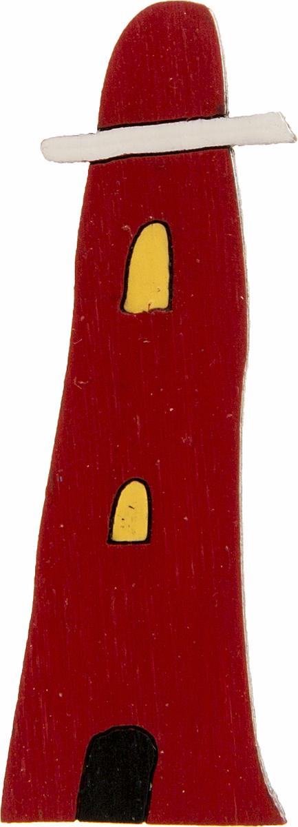 Брошь Маяк. Дерево, роспись, ручная работа. РоссияОС29204Брошь выполнена по картине Альфреда Уоллиса Маяк, 1920-е гг. Дизайнеры: Олеся Луконина, Николай Уренцов. Дерево, роспись, ручная работа. Россия. Размер: 1,5 х 5 см. Тип крепления - булавка с застежкой. Брошь унисекс - подойдет как необычное украшение для мужчин и женщин! Можно носить на одежде, шляпе, рюкзаке или сумке.