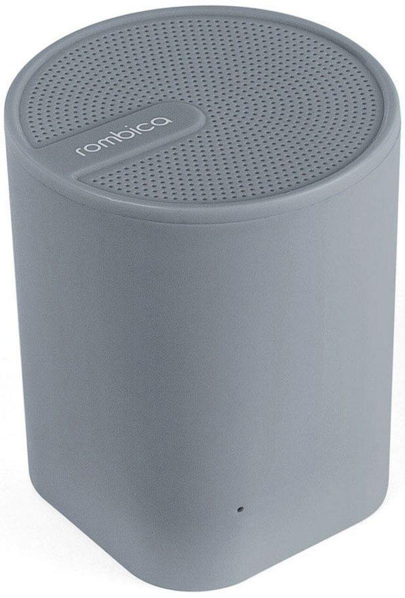 Rombica Mysound BT-04 1C, Gray портативная акустическая системаSBT-00041Аудиопроигрыватель Rombica MySound BT-04 1C совместим со всеми популярными устройствами с поддержкой Bluetooth, а также воспроизводит музыку через аудиовход. Встроенный сабвуфер дает глубокий и насыщенный бас. Аккумулятор 300 мАч обеспечивает долгую работу. Rombica MySound BT-04 1C имеет встроенный микрофон для приема звонков.