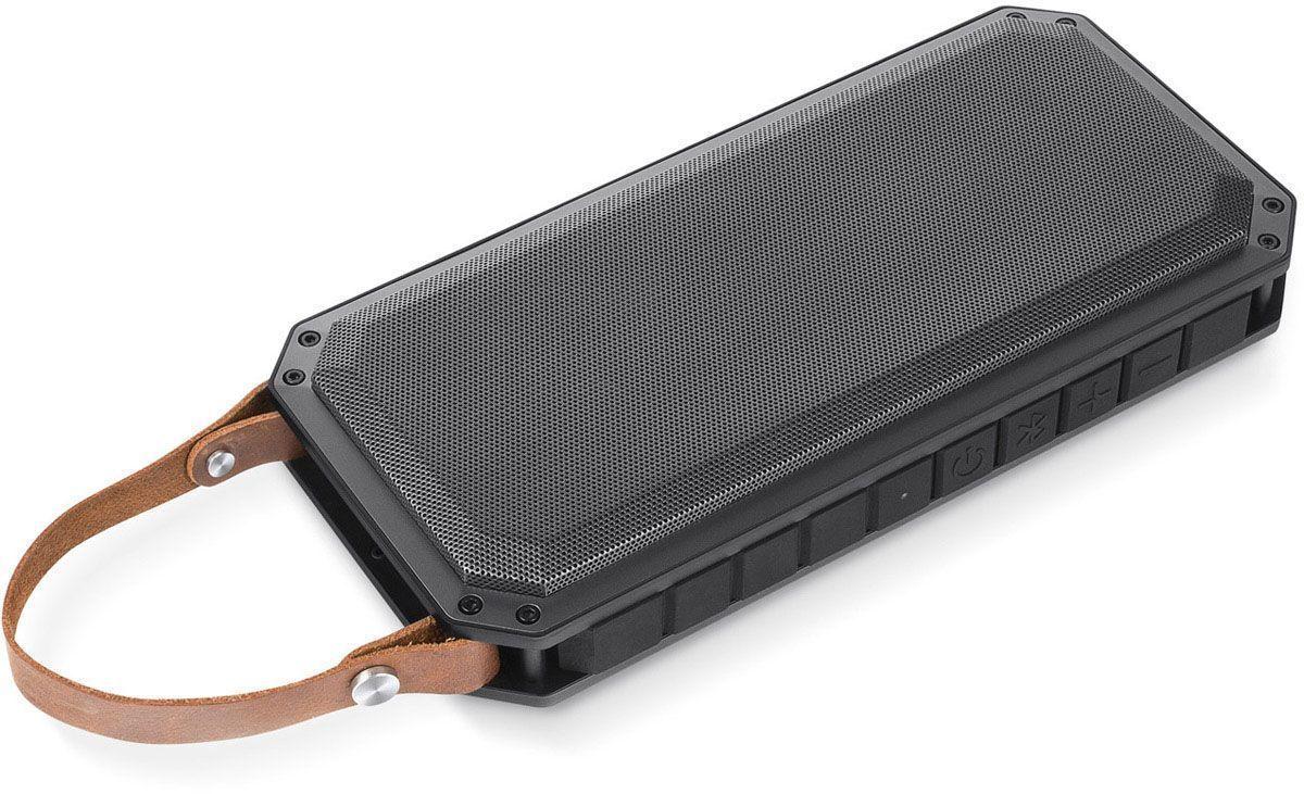 Rombica MySound BT-19, Gray Black портативная акустическая системаSBT-00190Аудиопроигрыватель Rombica MySound BT-1 совместим со всеми популярными устройствами с поддержкой Bluetooth, а также воспроизводит музыку через аудиовход. Два встроенных сабвуфера дают глубокий и насыщенный бас. Двухстороннее звучание идеально подходит для вечеринок. Емкий аккумулятор 2x2200 мАч обеспечивает долгую работу. Помимо воспроизведения музыки Rombica MySound BT-19 может также зарядить ваш смартфон. Диаметр широкополосного динамика: 50 мм Два усилителя, 70 мм в диаметре
