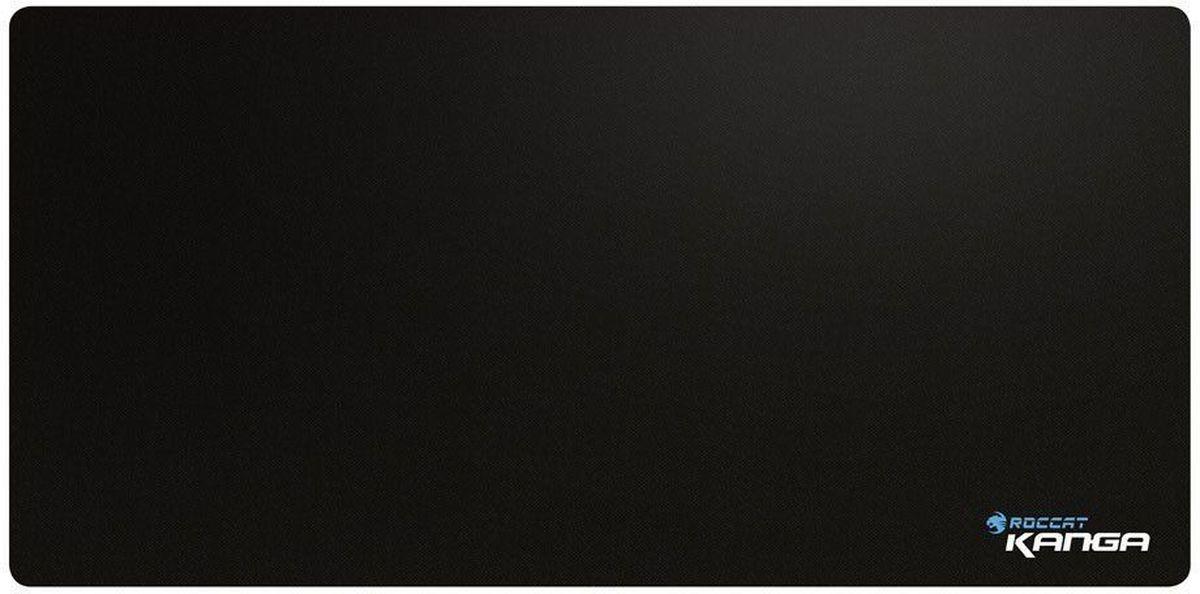 ROCCAT Kanga XXL игровой коврик для мышиROC-13-012Важнейший союзник вашей любимой игровой мыши, коврик Kanga на тканевой основе прошел целую серию испытаний экспертов ROCCAT, протестировавших на нем более 80 мышек. Комфортные размеры и приятная поверхность. Размеры: 320х270 мм, 265х210 мм и 850х330 мм, толщина всех ковриков оптимальна для использования в играх — 2 мм. Качественная волокнистая поверхность Kanga гарантирует идеальный баланс осей X-Y и полный контроль за движениями мыши. Прорезиненное основание обеспечивает идеальное сцепление с поверхностью, необходимое для надежного и точного управления. Новый коврик Kanga — идеальное комбо для вашей игровой мыши.