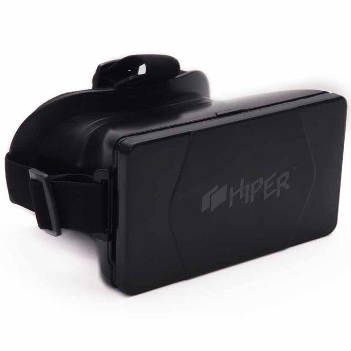 Hiper VRS очки виртуальной реальностиVRSТип линз: асферические линзы Угол обзора: 90 градусов Совместимость: смартфоны на iOS и Android с дисплеем 4,3 – 6 Габаритные размеры: 190х135х100 мм Вес в упаковке: 405 г Комплектация: влажная салфетка, микрофибра, карточка в магазин приложений Фибрум