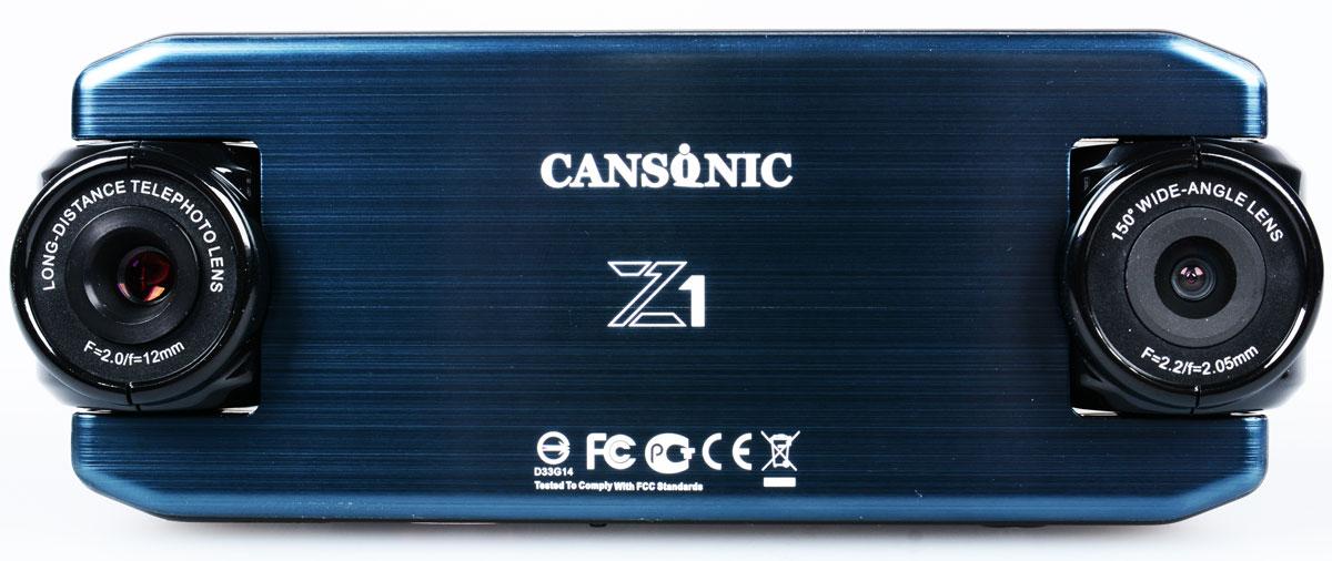 Cansonic Z1 Zoom, Black видеорегистратор4627087521288