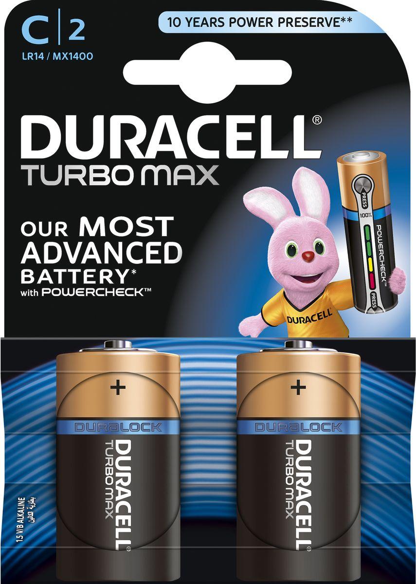 Батарейка Duracell LR14-2BL Turbo, 2 шт81529780
