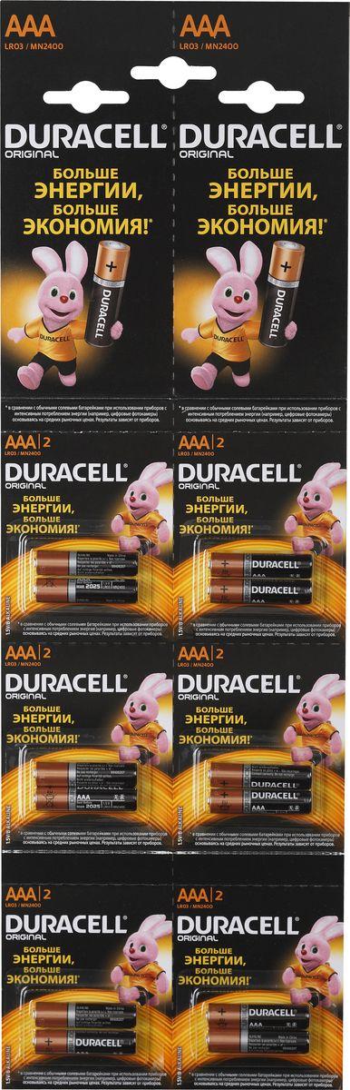 Батарейка Duracell LR03-2BL Basic81528141