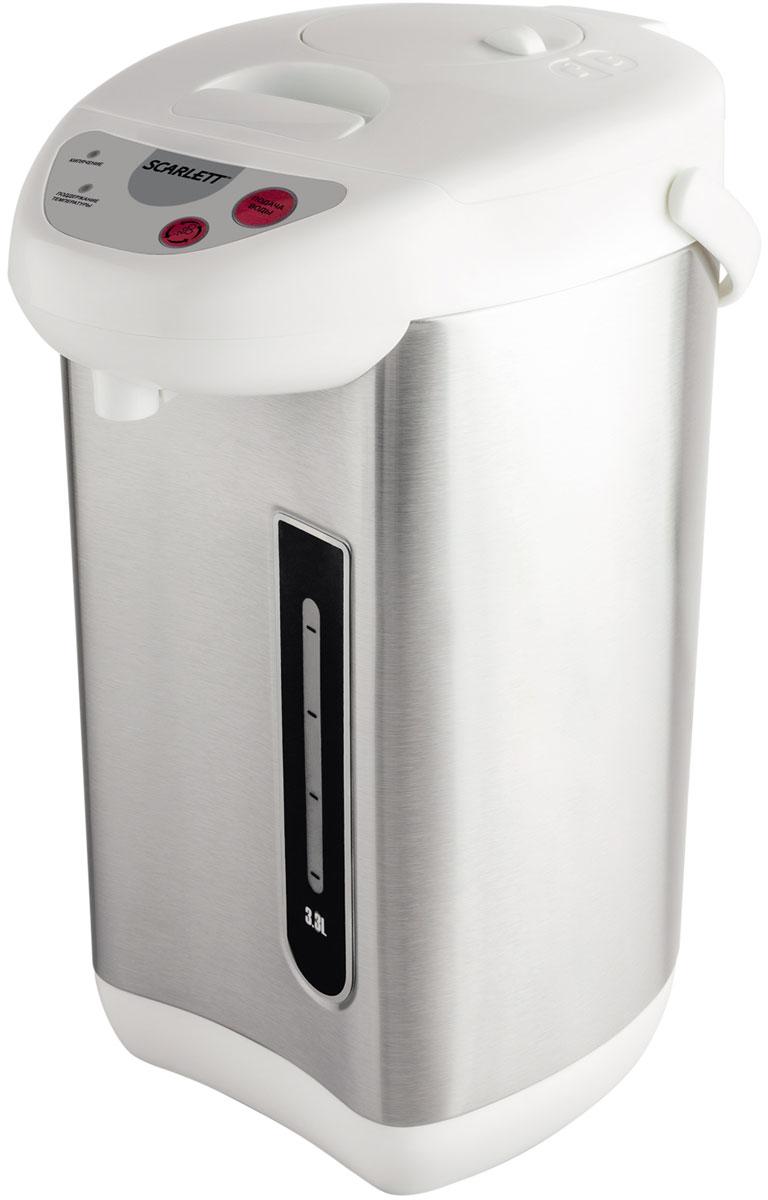 Scarlett SC-ET10D03, Steel White термопот