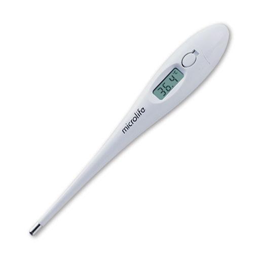 Microlife термометр электронный MT 3001MT 3001Электронный термометр Microlife MT 3001 – это надежный, проверенный временем прибор, который станет отличной заменой ртутному градуснику. Большая кнопка включения, электронный дисплей, система звуковых сигналов делают прибор удобным в использовании для всей семьи. А доступная цена станет дополнительным «плюсом» при выборе прибора.